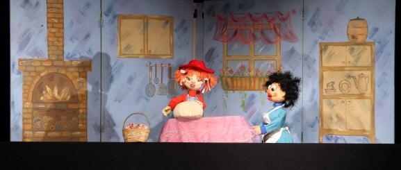 Image result for թումանյանի անվան տիկնիկային թատրոն կարմիր գլխարկ